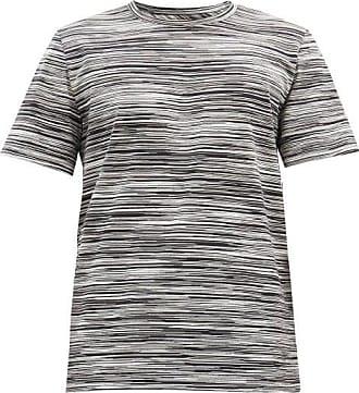 Missoni Crew-neck Striped Cotton-jersey T-shirt - Mens - Black Multi