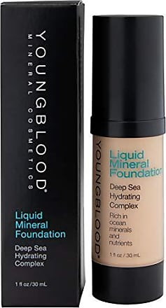 Youngblood Mineral Cosmetics Liquid Mineral Foundation - 1 Oz, Color Shell
