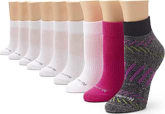 9 pair pack No Nonsense Womens Ahh Said The Foot Quarter Top Half Cushion