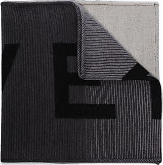 Givenchy logo knitted scarf - Preto