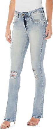 Lança Perfume Calça Jeans Lança Perfume Bootcut Hera Azul