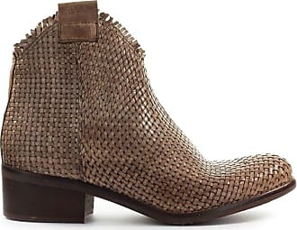 Zoe Fashion Woman NEVADA01 Brown Leather Ankle Boots | Spring Summer 20