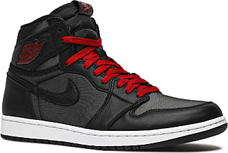 Nike Jordan 555088 Mens, Negro/Black/Metallic Silver/Rojo Gimnasio, 4 UK