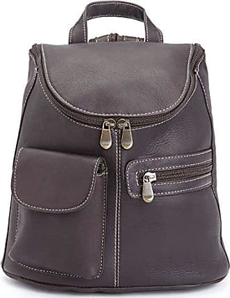 Royce Leather Womens Luxury Sling Backpack Handcrafted in Colombian Leather Tan One Size