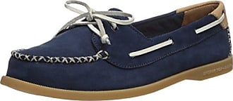 f12af6cd6643 Sperry Top-Sider Womens A O Venice Leather Boat Shoe Navy 5.5 Medium US