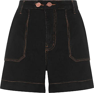 Animale SHORT FEMININO VELUDO - PRETO