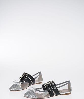 Miu Miu Glitter Ballet Flat size 36,5