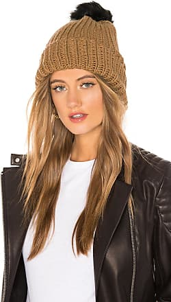 Hat Attack Tonal Pom Beanie in Brown