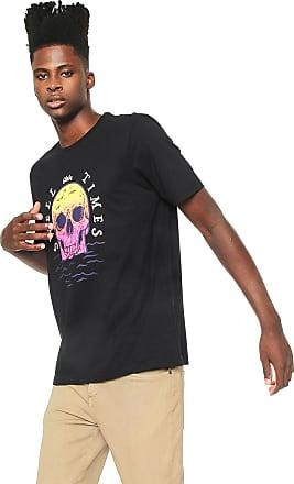 Globe Camiseta Globe Swell Times Preta