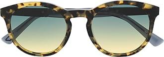 Diesel Óculos de sol com efeito tartaruga e lentes coloridas - Neutro