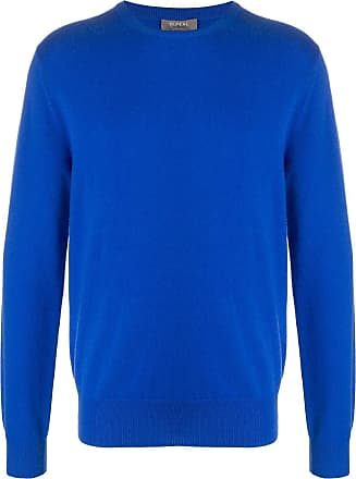 N.Peal cashmere long sleeve jumper - Blue