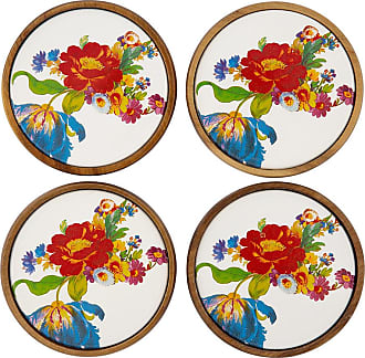 MacKenzie-Childs Flower Market Coasters - Set of Four