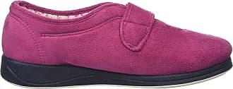 Padders Womens Camilla Low-Top Slippers, Pink (69 Rasp/Cerise), 3 UK 36 EU