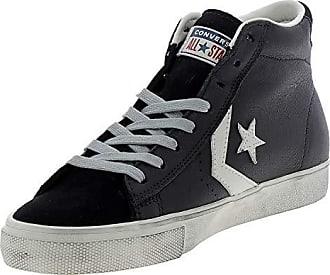 87ef3b3dc7fb Converse Unisex-Erwachsene Lifestyle Pro Leather Vulc Distressed Mid  Sneakers Mehrfarbig (Black Turtledove
