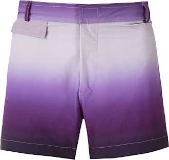 Amir Slama Costume da bagno con fantasia tie dye - Di colore viola