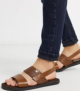 Base London empire sandals tan leather