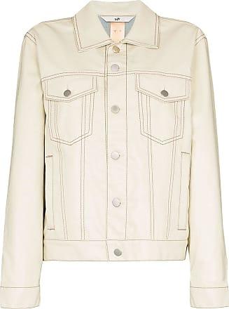 Eytys Jaqueta jeans Buck Tar - Branco