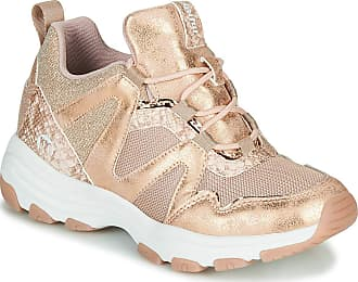 Mustang MTNG Gayko Trainers Women Pink/Gold - UK:3.5 - Low Top Trainers Shoes