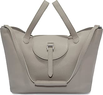 Meli Melo Meli Melo Thela Taupe Grey Leather Tote Bag for Women