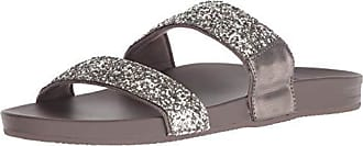 61c8bcf8bf9f Reef Womens Cushion Bounce Vista SOL Slide Sandal Safari 080 M US