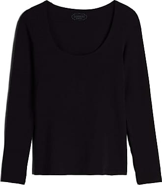 intimissimi Womens Long-Sleeve Scoop-Neck Micromodal Top