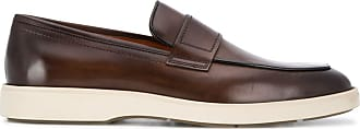 Santoni Mocassim slip-on Detroit - Marrom