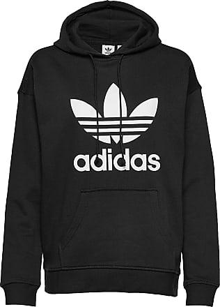 adidas Originals Huvtröja Trf Crop Hoodie Svart Dam