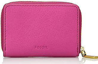 d4b37b03b2 Fossil Mini Zip - Casi di carta Donna, Pink (Hot Pink), 1.91