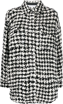 Iro Restrain shirt coat - Black