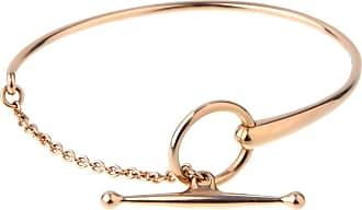 Hermès Filet D Or Rose Gold Bracelet