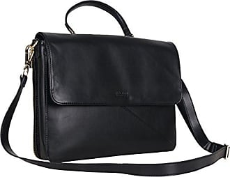 Kenneth Cole Reaction Kenneth Cole Reaction Womens East Bay Babe Faux Leather Dual Compartment 15 Laptop Business Tote, Black