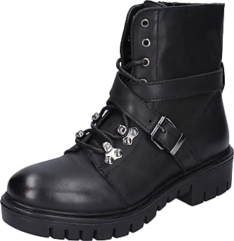 Inuovo Women Leather Black Boots 7.5 UK