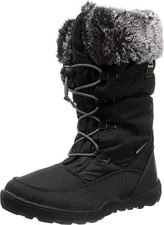 kamik Girls CAMROSE Snow Boot, Black Black Noir Blk, 10 UK Child