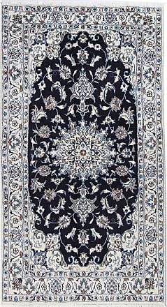 Nain Trading 215x117 Tappeto Nain Corridore Grigio Scuro/Blu Scuro (Lana, Persia/Iran, Annodato a mano)
