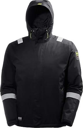 Helly Hansen Mens Aker Winter Jacket (XL) (Jet Black)