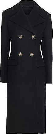 Helmut Lang Helmut Lang Woman Double-breasted Wool-blend Felt Coat Black Size 2
