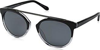 55 mm Original Penguin Mens The Gondorff Polarized Rectangular Sunglasses Crystal