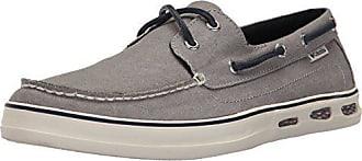 Columbia Mens Vulc N Vent Shore Boat Athletic Sandal Light Grey/Collegiate Navy 7 D US