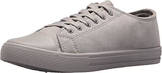 Qupid Womens NARNIA-10 Sneaker, Light Grey, 9 M US