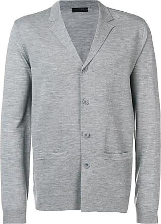 Falke v-neck buttoned cardigan - Grey