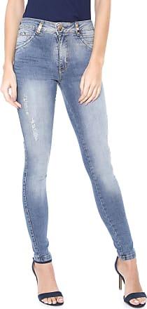 Biotipo Calça Jeans Biotipo Skinny Estonada Azul