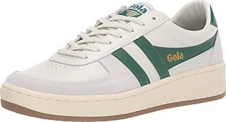Gola Mens Grandslam 78 Trainers, Off-White (Off White/Green/Gum WN), 10 (44 EU)