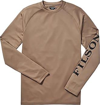 2d6674dd5269cd Filson Mens Barrier LS T-Shirt - Medium - Warm Khaki