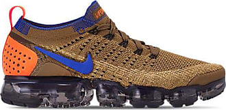 Nike Mens Air VaporMax Flyknit 2 Running Shoes, Brown