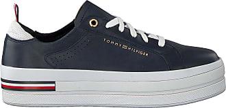 Tommy Hilfiger Sneaker Low Metallic Flatform Schwarz Damen
