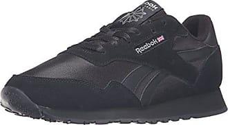 Reebok Mens Royal Nylon Walking Shoe, Black/Carbon, 4.5 M US