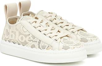 Chloé Sneakers Lauren aus Spitze
