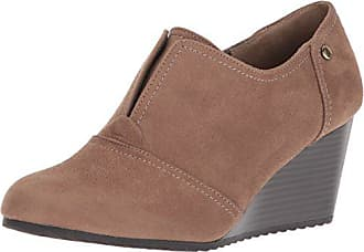 36b6fb870059 Life Stride Womens Punch Ankle Boot Taupe 6.5 M US