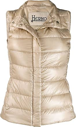 Herno zipped padded gilet - Neutrals