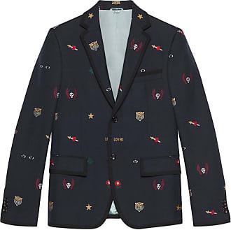 0c33df149ed29 Gucci Giacca Cambridge con simboli